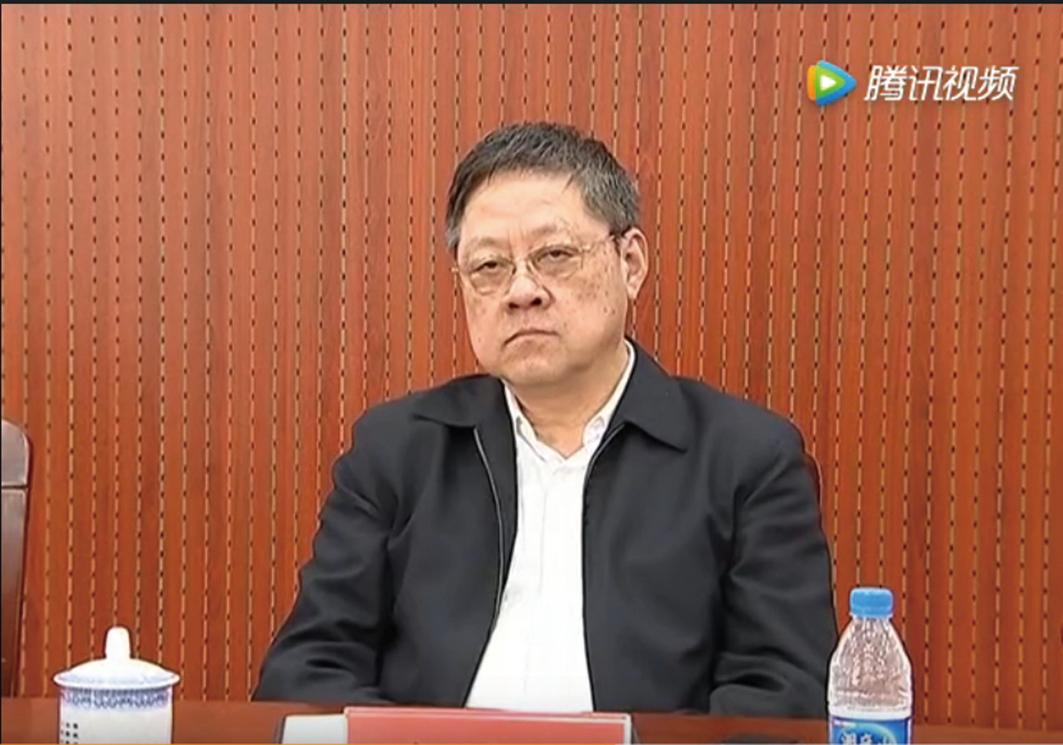 中共江蘇高級法院前院長許前飛落馬。(影片截圖)