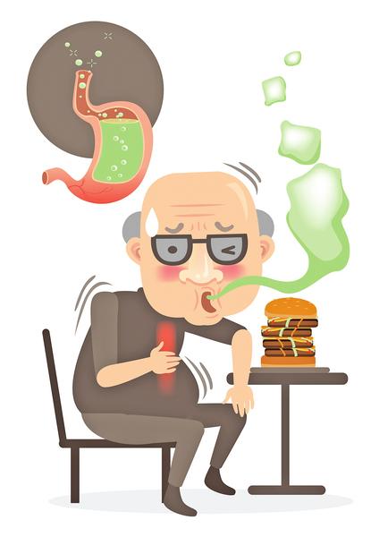 傳統中醫有吞酸吐酸之病