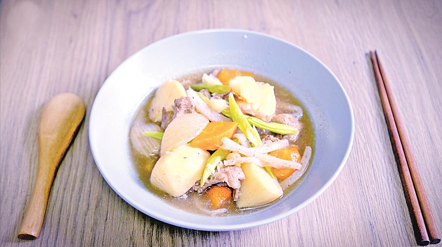 日本暖心菜餚---薯仔燉肉