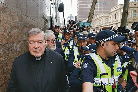 梵蒂岡排位第三樞機主教性侵案聽證 媒體關注