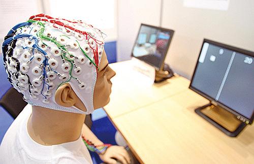 電腦能取代人腦嗎?(AFP)