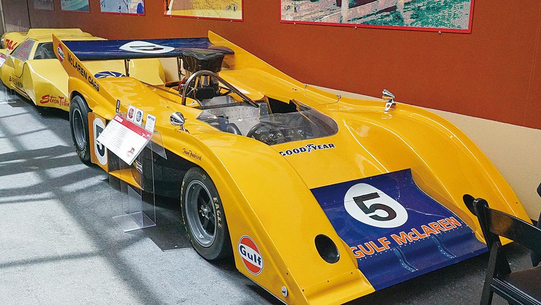 McLaren邁凱輪一級方程式賽車。(李旭生/大紀元)