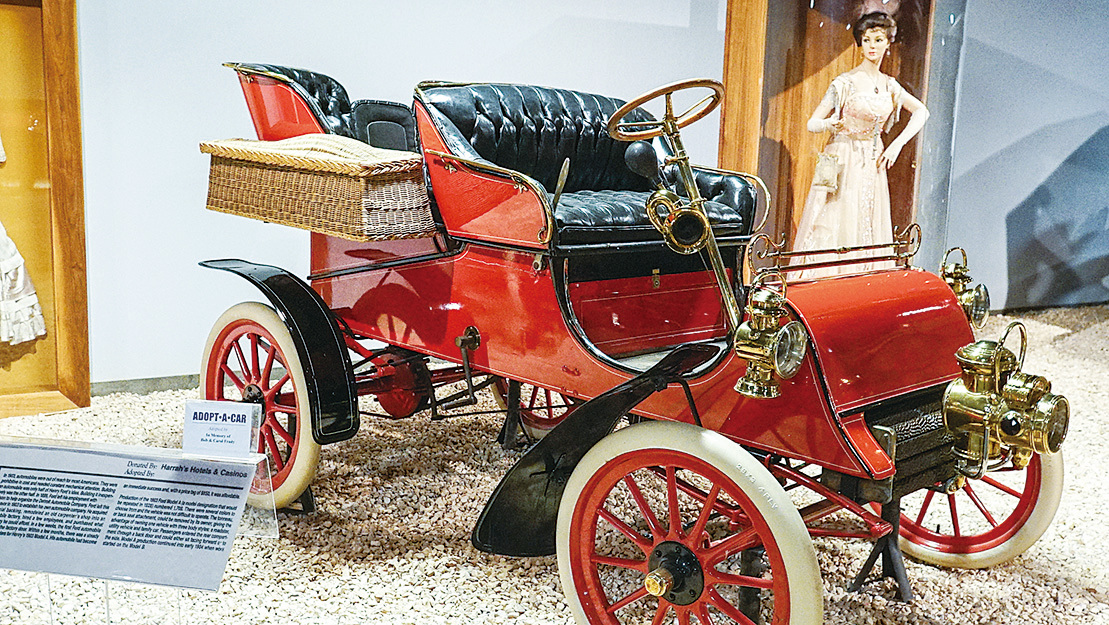 1903年款福特老爺車。(李旭生/大紀元)