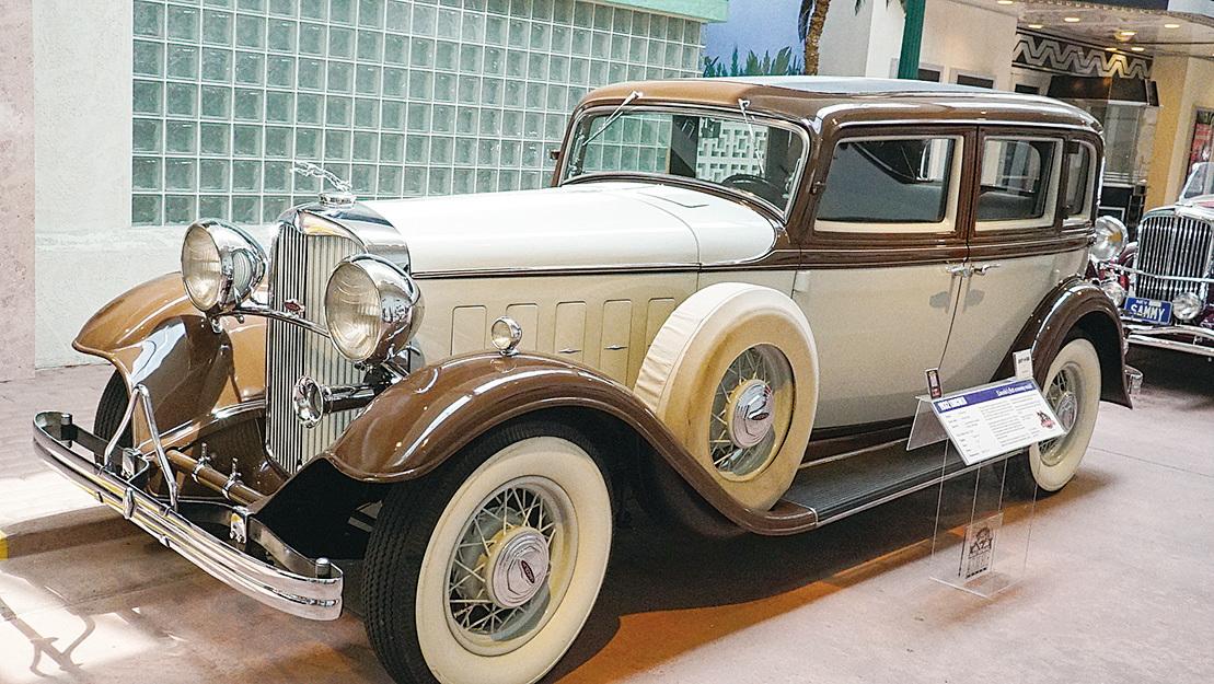 1932年款林肯Lincoln老爺車。(李旭生/大紀元)