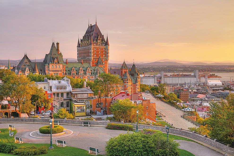 魁北克省繼承了法國人的文化情調和浪漫品味,散發著濃郁的歐洲風情。(Fotolia)