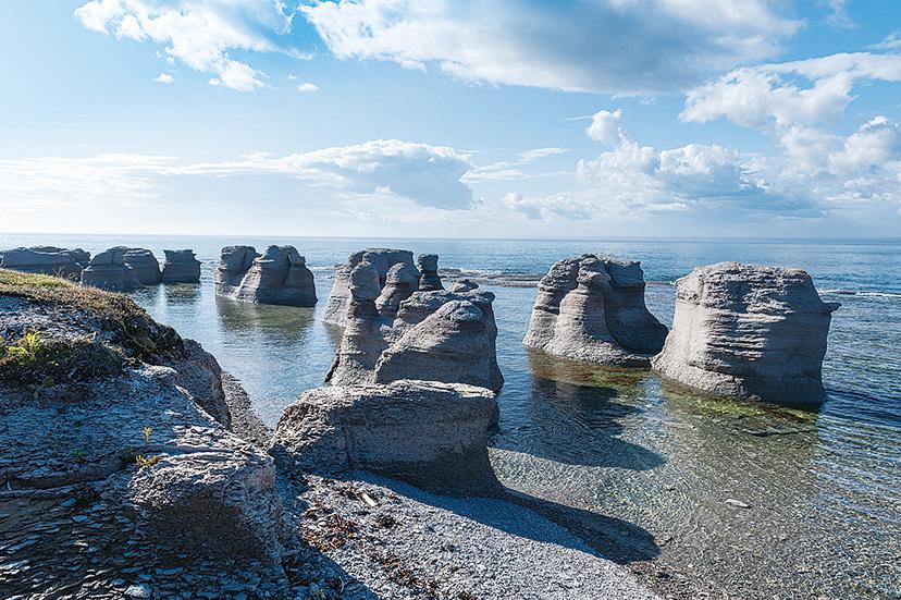 明根群島國家公園的巨石叢林。(Fotolia)