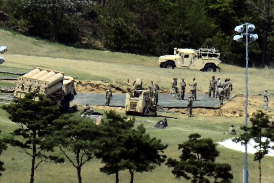 各國譴責北韓再射彈 韓擬儘快完成薩德部署