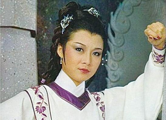 歐陽佩珊1983年在《神鵰俠侶》中飾演黃蓉一角。(網路圖片)