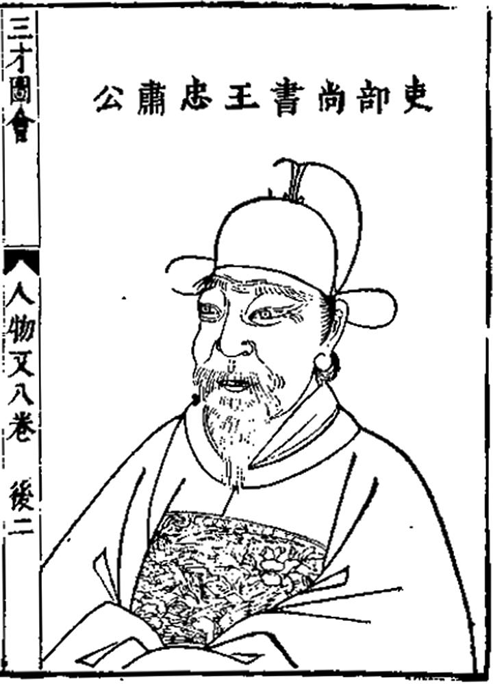 王翺,字九臯,明朝政治人物,謚忠肅。