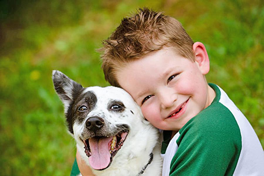 專家表示,小狗的口鼻滿是細菌和病毒,千萬別讓小狗舔你的臉,以免感染。(Fotolia)