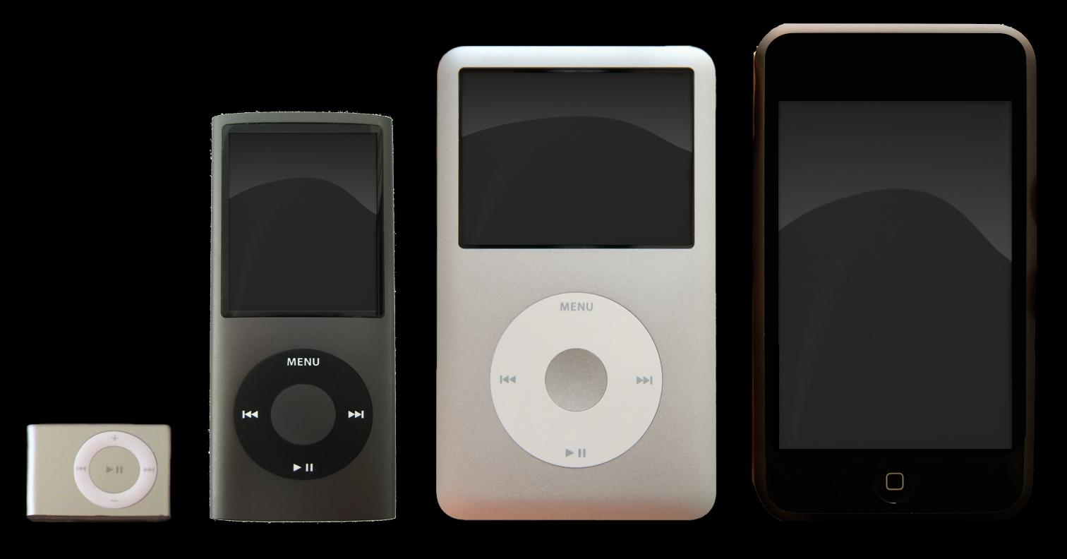 蘋果公司於7月27日宣佈,將停止銷售iPod系列中的兩款音樂播放器iPod Nano和iPod Shuffle。(維基百科)