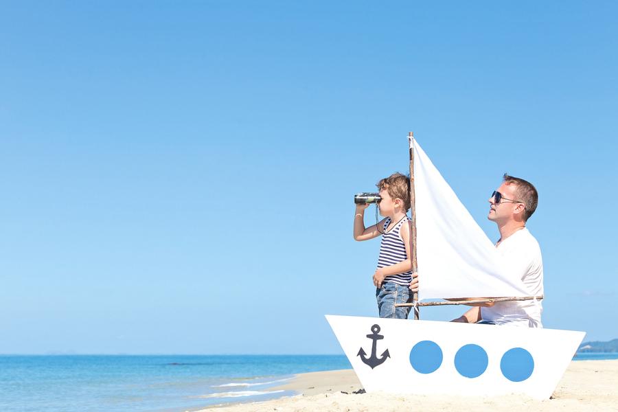 讓孩子 做一艘 負重的船
