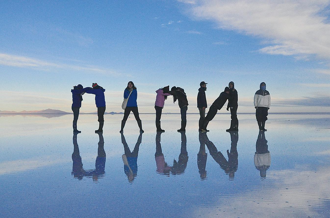 林詠涵在玻利維亞。(林詠涵)