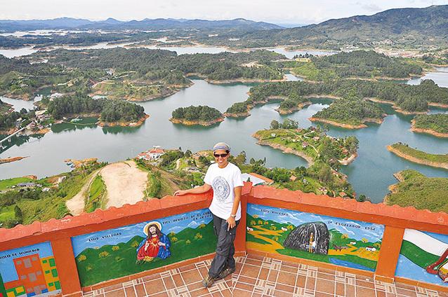 林詠涵在哥倫比亞。(林詠涵)