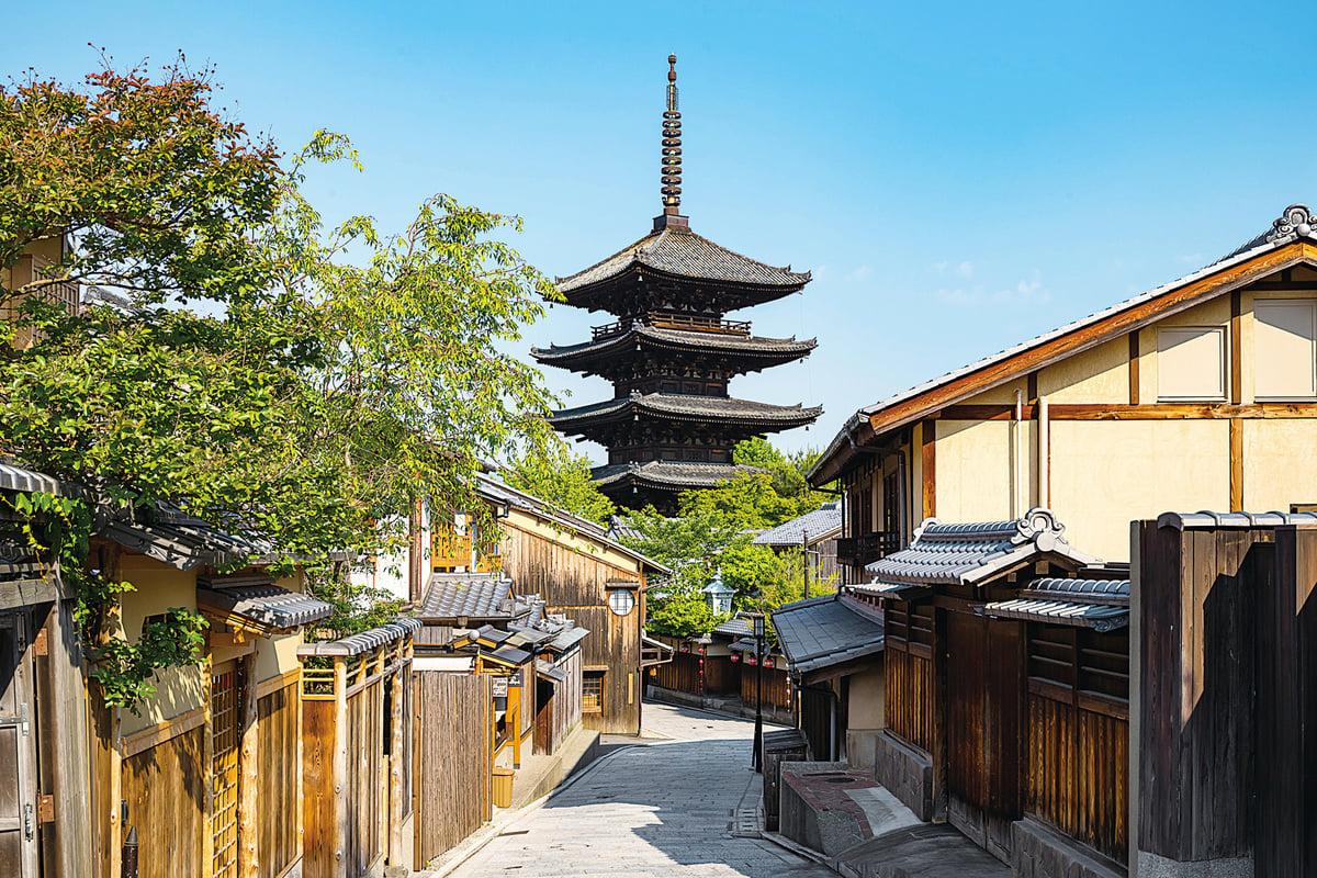 日本的文化古都:京都。(PIXTA)