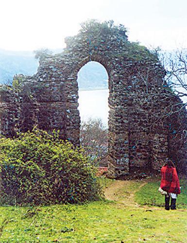Anadolu Kavagi如今已斷壁殘骸。