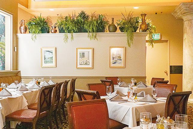 位於Eldorado賭場內的La Strada餐廳讓人感覺置身意大利。(李旭生/大紀元)