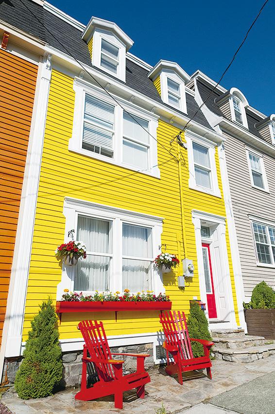 紐芬蘭省的聖約翰斯以五顏六色的建築聞名。(Fotolia)