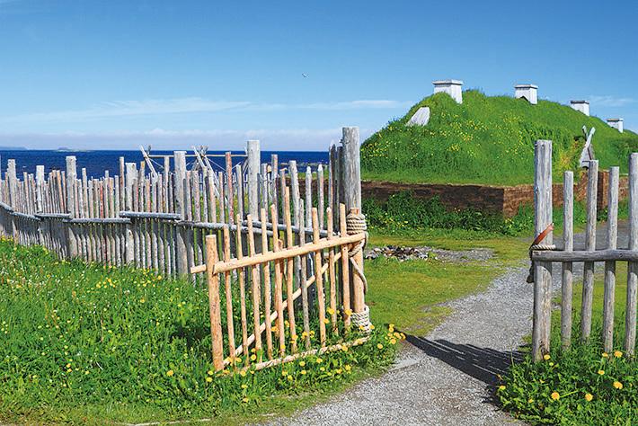 蘭塞奧茲草甸有著北美唯一的維京人村落遺跡。(Fotolia)