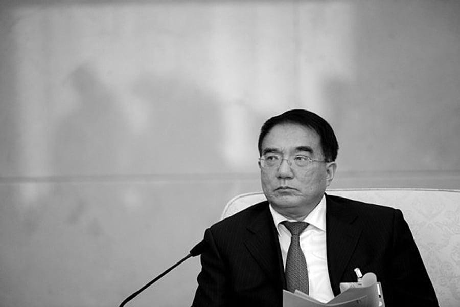 2016年8月10日,前遼寧省委書記王珉被「雙開」,以及立案調查。圖為王珉在2013年兩會期間。(網絡圖片)