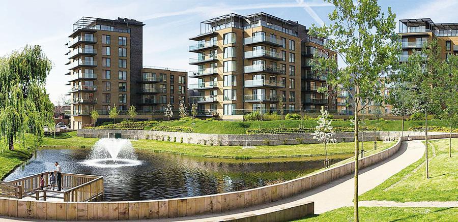 受華人歡迎的倫敦新概念住宅