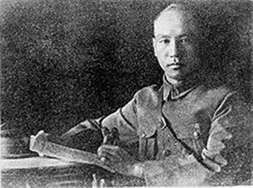 1926年的蔣介石。 (網絡圖片)