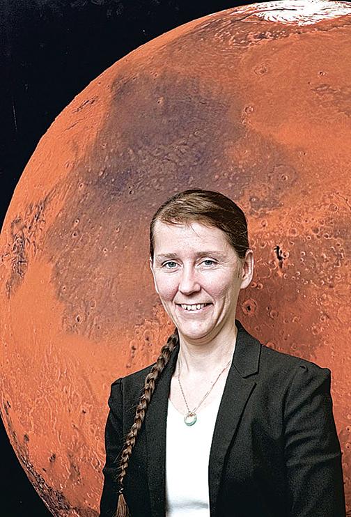 自2014年以來,凱瑟琳.康利(Catharine Conley)擔任NASA唯一的星球保衛員。(NASA)
