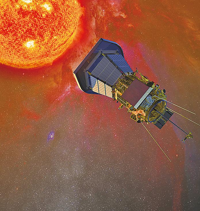 太陽有無窮的奧秘,美國太空總署計劃明年發射探測器做進一步探索。(NASA)