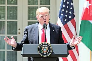 特朗普警告北韓勿威脅美國