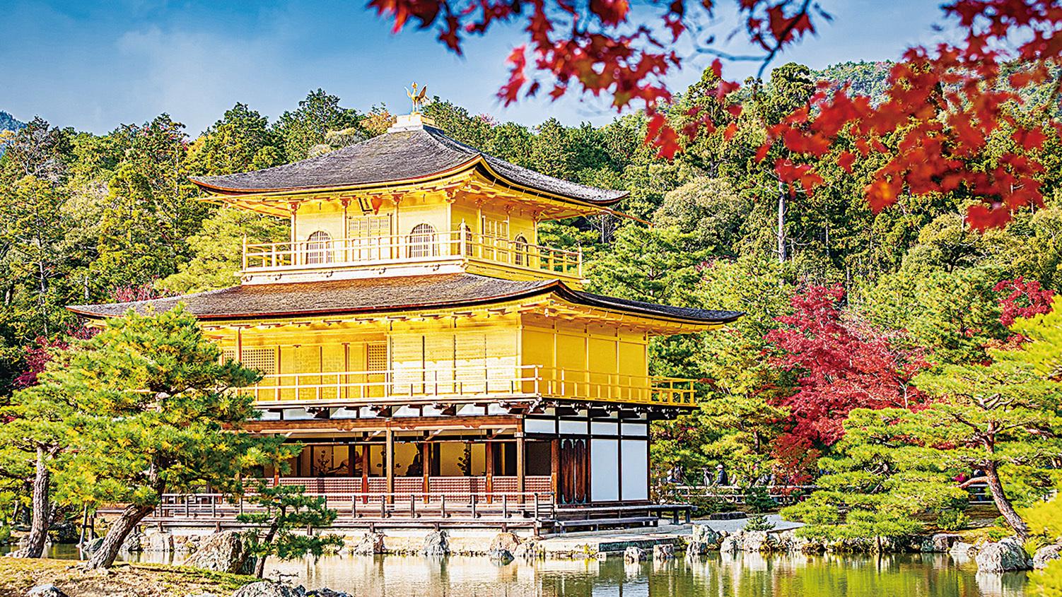 富有傳統文化底蘊的京都金閣寺。(PIXTA)