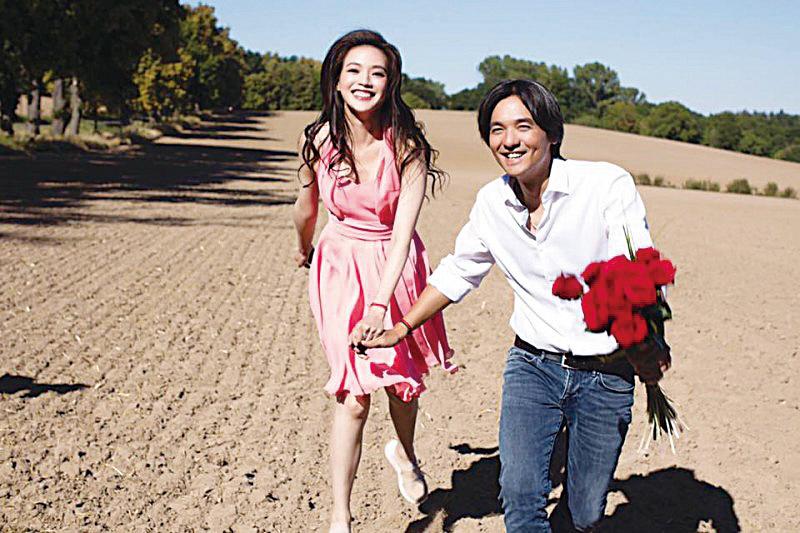 馮德倫與舒淇去年閃電宣佈結婚。(資料圖片)