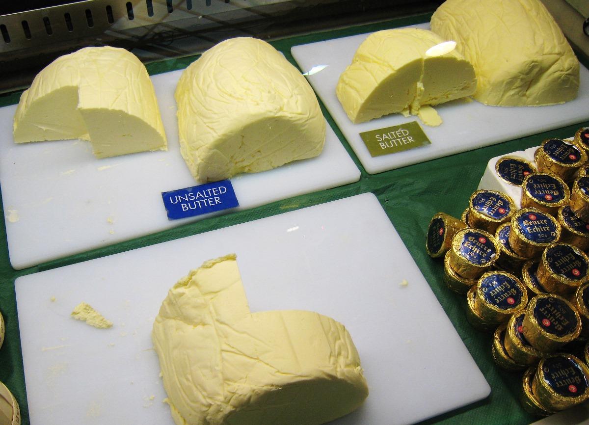 歐洲目前面臨嚴重的牛油荒。(維基百科)