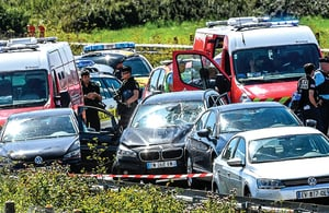 法國反恐士兵遭襲擊 六人受傷 主犯落網