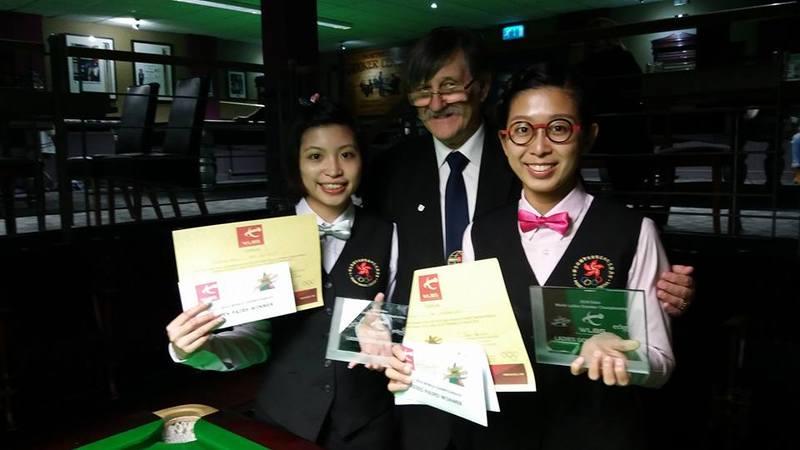 吳安儀溫家琪奪桌球世界賽女雙冠軍