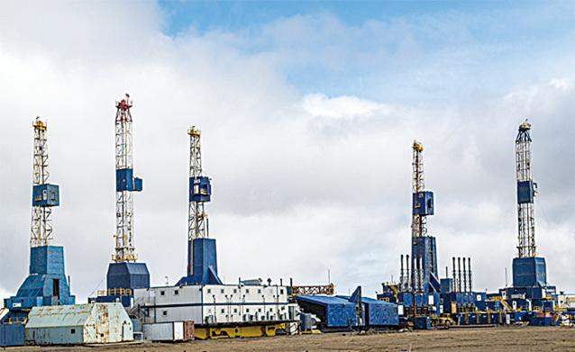 普拉德霍灣油井(網路截圖)