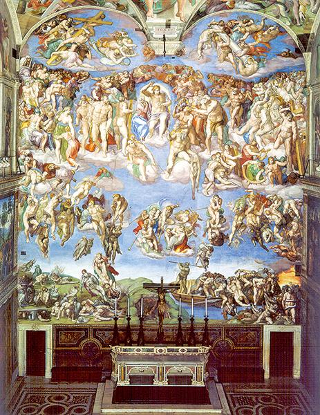 氣勢磅礡的永恆之畫──米開朗基羅 《最後的審判》