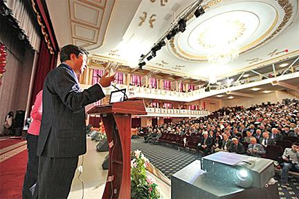哈薩克國立醫科大學講座(2013.12)