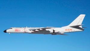 中共軍機八月兩度繞台 台國防部:全程掌握