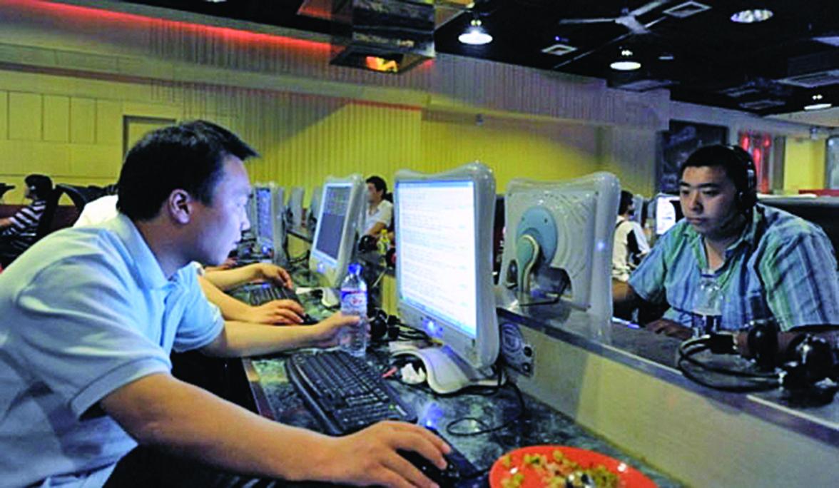 中國三大公共網絡平台、自媒體平台成為當局整肅對象。(AFP)