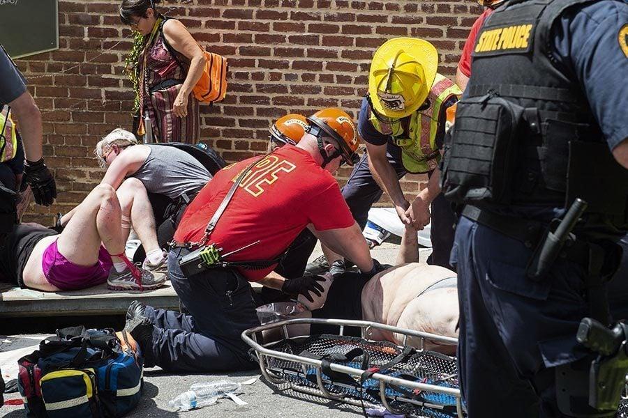 維州集會再傳意外 警用直昇機墜毀兩警殉職