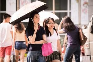 台北連續十天高溫 破120年紀錄