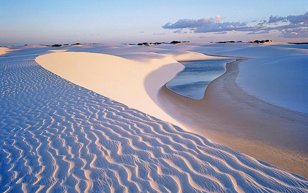 沙子是我們最熟悉的一種東西。但是,沙子蘊含無窮的奧妙。(Getty Images)