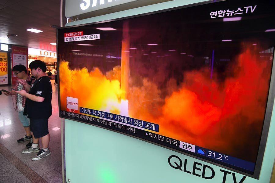 北韓ICBM引擎從哪來?研究:俄或烏國黑市
