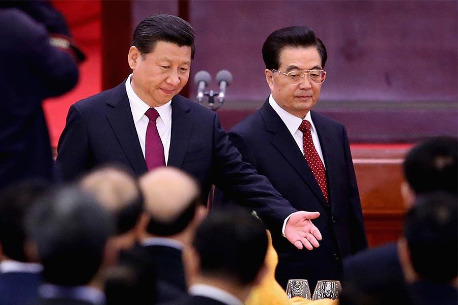 總部設在北京的多維網稱,胡錦濤、宋平等退休常委可能作為特邀代表出席中共十九大,江澤民出席的機率是零。(Feng Li/Getty Images)