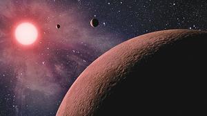 太陽系近鄰發現四顆類地行星