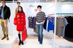 井柏然與女友倪妮代言品牌時裝   喜歡簡單舒適生活