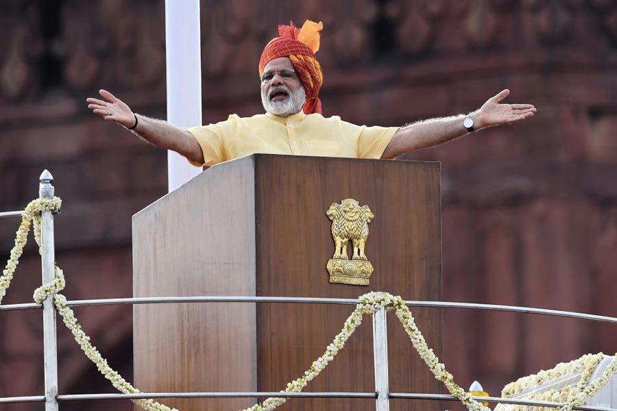 莫迪獨立日演講 將打造一個「新印度」