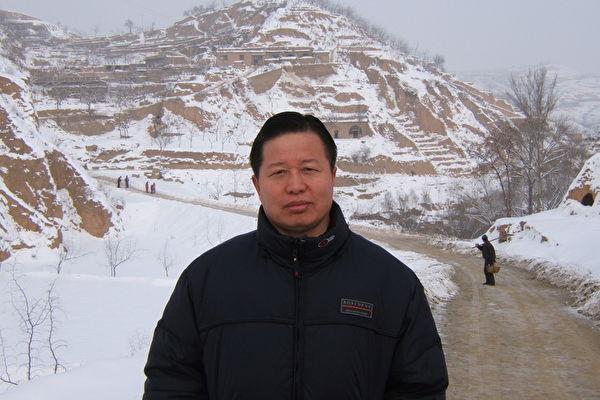 高智晟被警察綁架到北京