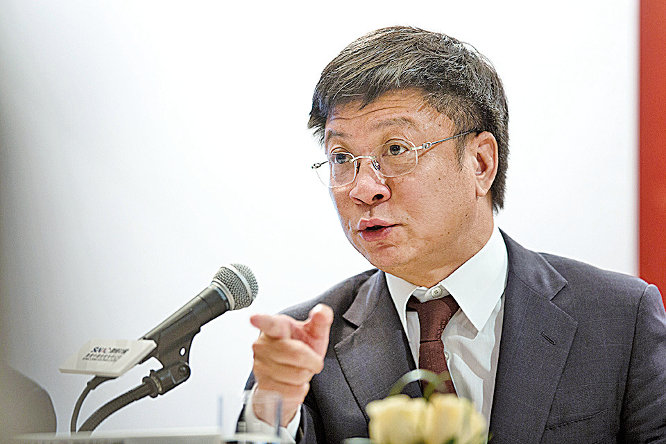 融創中國董事會主席孫宏斌在業界有「收購王」封號。(大紀元資料室)