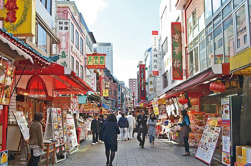 神戶中國城。(網絡圖片)